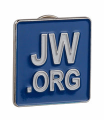 Jw.org Lapel Pin Blue