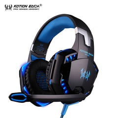 KOTION ELLER G2000 hodetelefonlampe øretelefon Gaming headset gamer med mikrofon hodetelefon for PC-PC