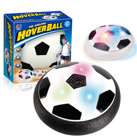 LED-lys Blinkende Bevegelse Air Power Fotball fotball leketøy Disc Gliding Game Toy Kid Chidren