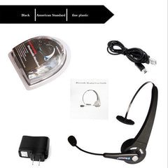 Multipoint Headband BTH-068 Trådløst Bluetooth Headset med Mic Long Standby Time øretelefon for PC PS3 Gaming Smartphones