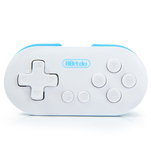 Original 8Bitdo Zero Mini Trådløs Bluetooth Game Controller Gamepad Joystick Selfie Fjernutløser LED Mode Indicator Light