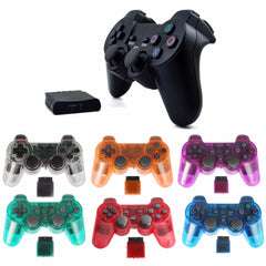 Trådløs spillspillad joystick for PS2-kontroller playstation 2 Vibrasjons video gaming spillstasjon for Sony joypad