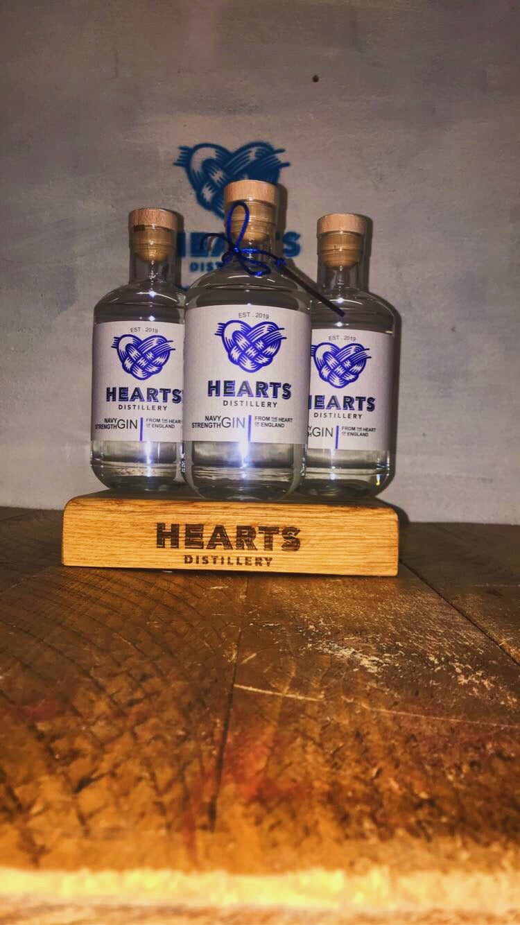 Hearts Navy Strength Gin 50 cl 57% abv