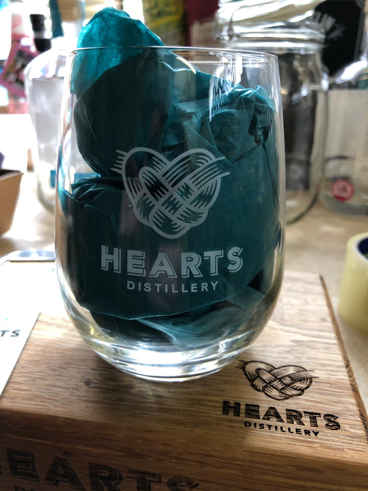 Hearts Gin Glass