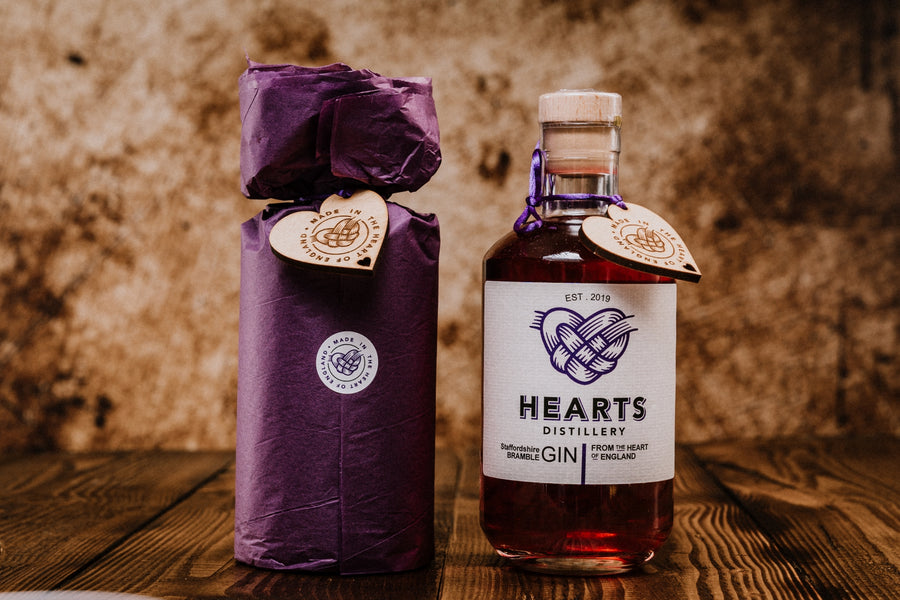 Hearts Staffordshire Bramble Gin 50 cl 42% abv