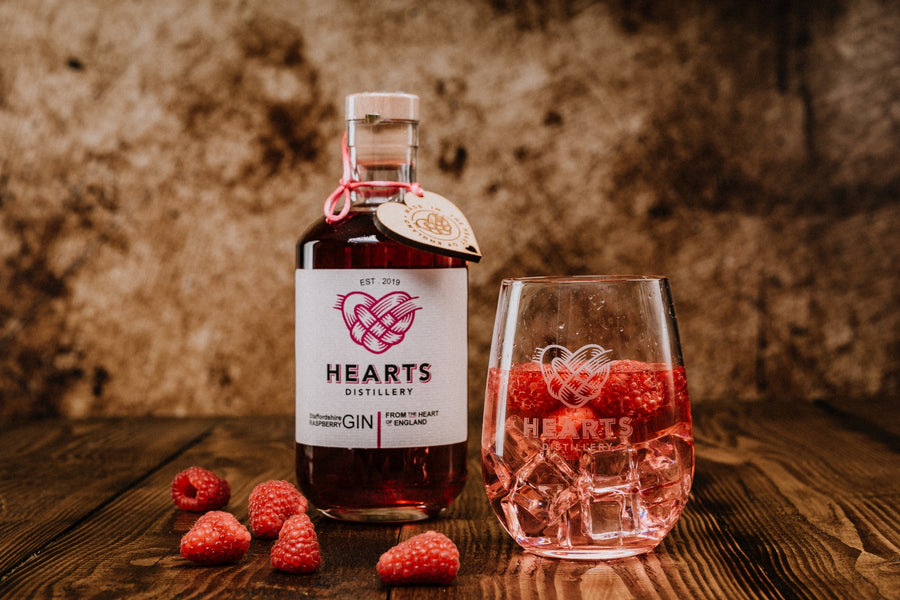 Hearts Raspberry Gin 50cl