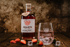 Hearts Staffordshire Strawberry Gin 50 cl 42% abv