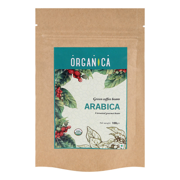 ARABICA GREEN COFFEE BEANS (Pouch)