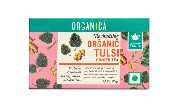 TULSI GINGER TEA BAGS