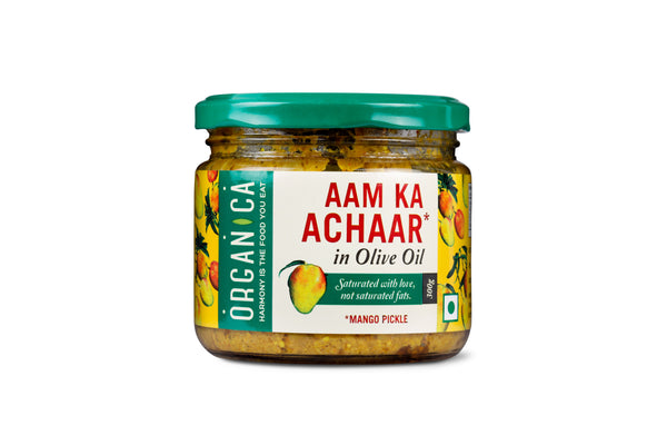 MANGO PICKLE WITH OLIVE OIL