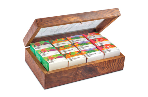 NYLON PYRAMID TEA GIFT BOX