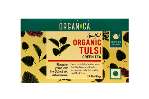 Tulsi Green Tea Bag