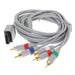 1,8m 6FT 1080P Komponentkabel HDTV Audio Video AV 5RCA-kabel För Nintendo Wii Naturlig och VIVID-support 1080i / 720P Spelkabel