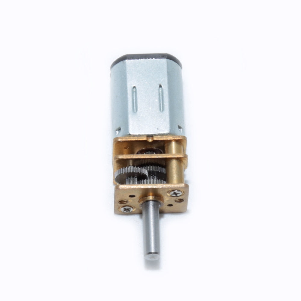 DC3V 6V 12V 12GA Micro DC Gear Motor with Gearbox For DIY Toy RC Car Model