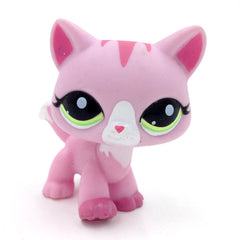 # 1788 Lps Djur Walk Pink Cat Tabby Kitty Kids