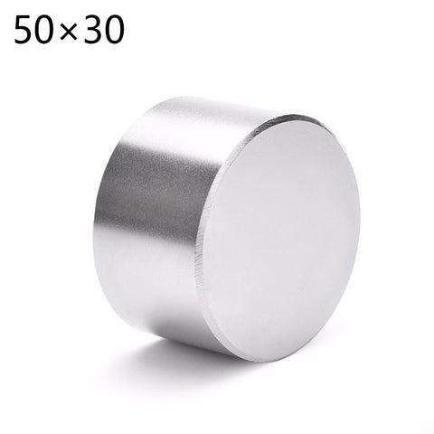 1 st 50x30 Super Strong Dia. 50x30mm Rare Earth Neodymium Disc Magnet 50 * 30 50mm x 30mm 50 * 30mm xiaozhufeifei
