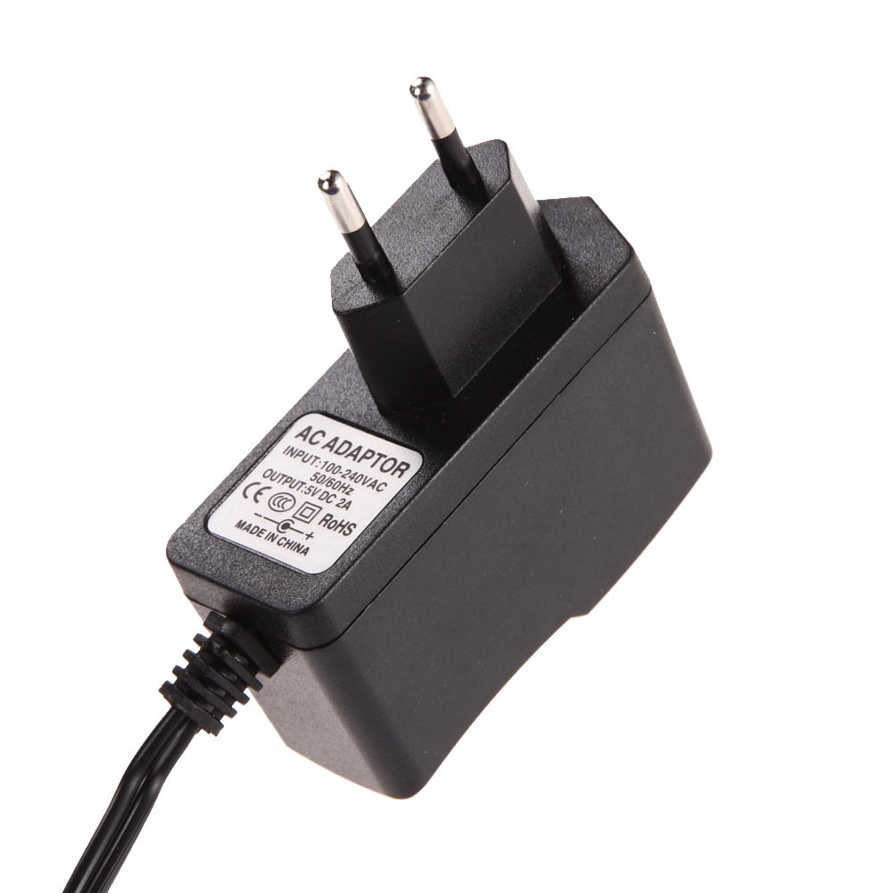 AC Switching power supply DC 5V 2A Adapter 2000mA Charger US plug 5.5mm x 2.5mm