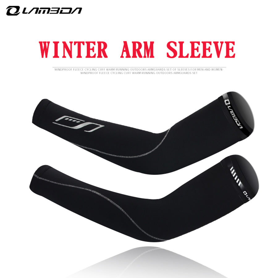 3a1052dcde Höst Vinter Varm Arm Sleeve Mäns Kvinnors Cykel Arm Warmers Outdoor Sport  Termisk Fleece Running Basket