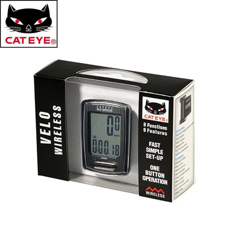 Cateye Cycling Bike Velo Wireless Digital Computer Speedometer CC-VT230W