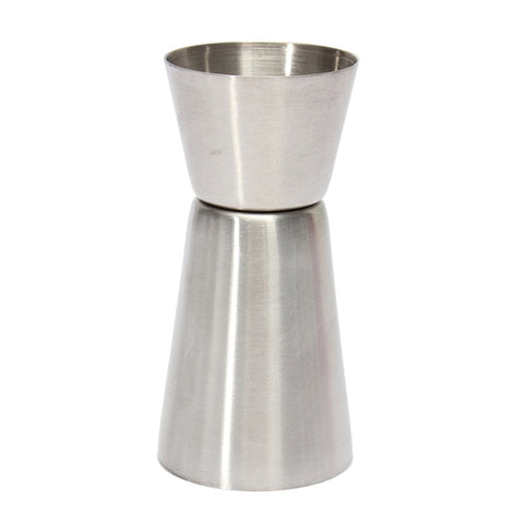 Insamling 20/40 ml 2-End Jigger smällde Cup Cocktail dricka vin Bar Cocktail Shaker Stainless Mätning nödvändig JUCESUPER