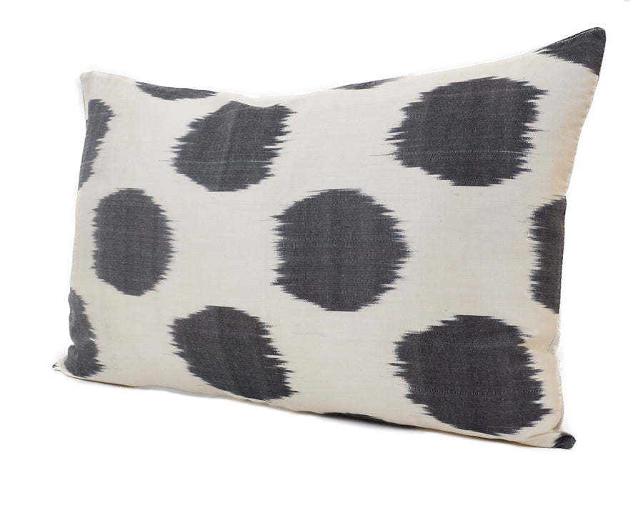 Black Point - IKAT SILK PILLOW