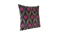 Load image into Gallery viewer, Honey Flower - IKAT SILK/VELVET PILLOW