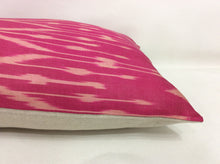 Load image into Gallery viewer, MULBERRY  - IKAT SILK PILLOW