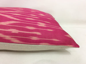 MULBERRY  - IKAT SILK PILLOW