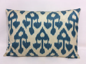 CHAMBRAY CHANDELIER - IKAT SILK/VELVET PILLOW