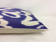 Load image into Gallery viewer, METEORITE PURPLE - IKAT SILK PILLOW