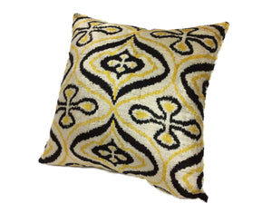 LA RIOJA- IKAT SILK/VELVET PILLOW