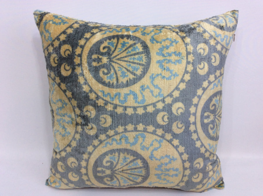 Ikat Pillow Cover - 20'' x 20'' Ikat Pillows Decorative Pillow ,Accent Pillow , Couch Pillows Sofa Large Pillows