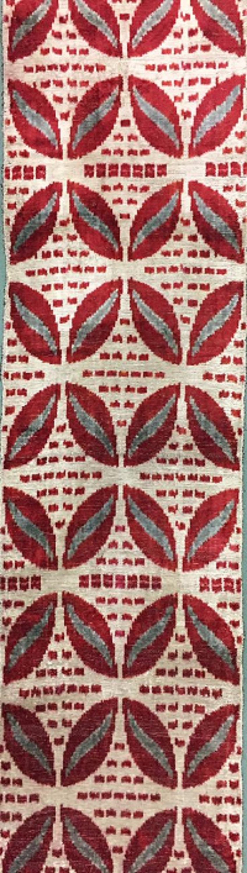 Handmade Silk Ikat Velvet Fabric,Decorative Fabric