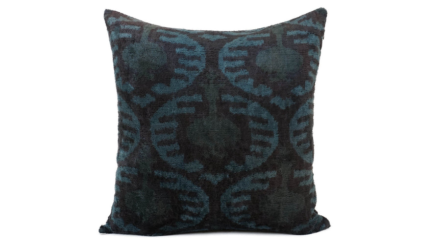 İkat Velvet Pillow Cover, 20'' x 20'' , İkat Velvet Square Pillow,