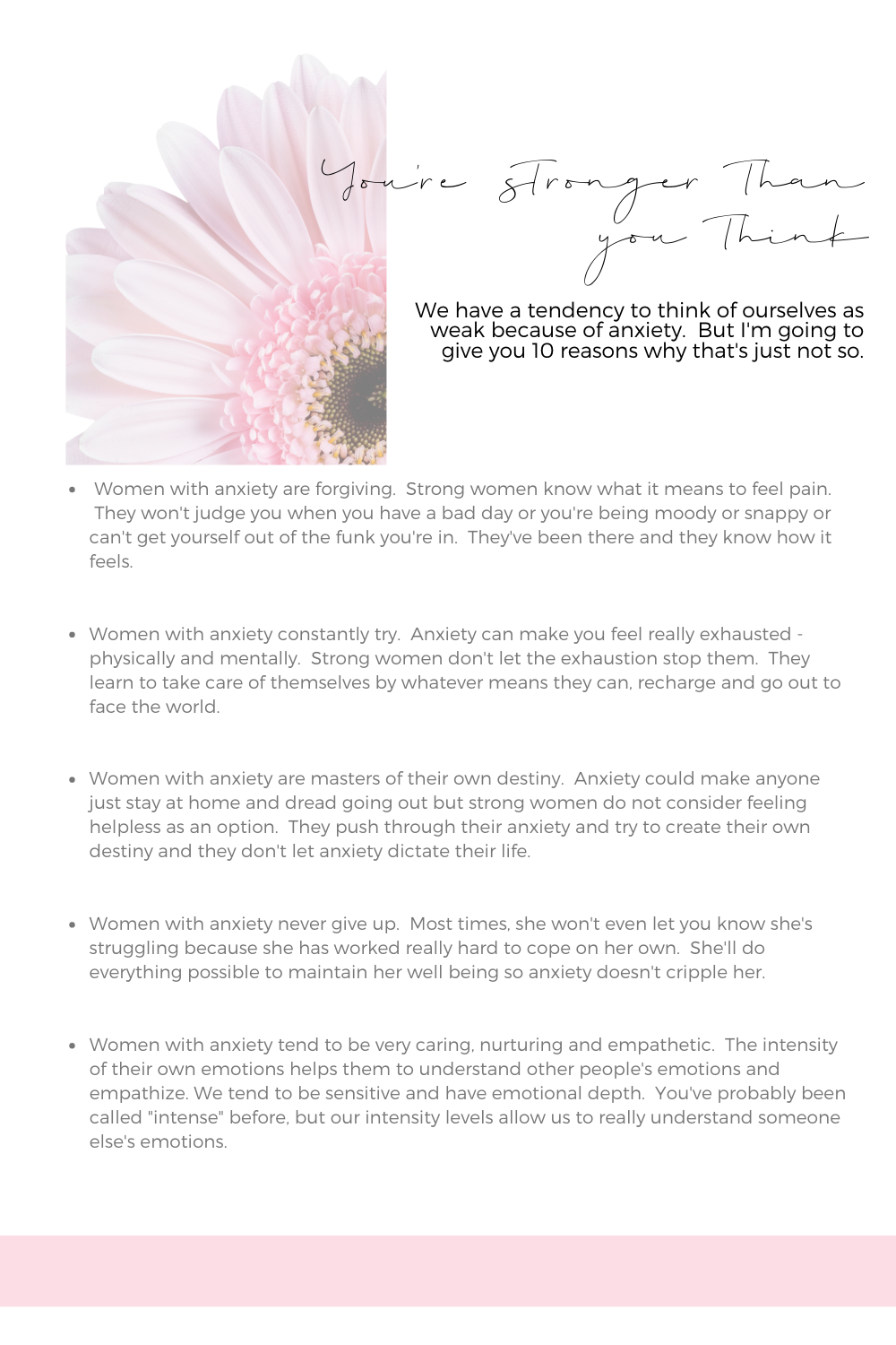 Cultivating Calm Anxiety Workbook
