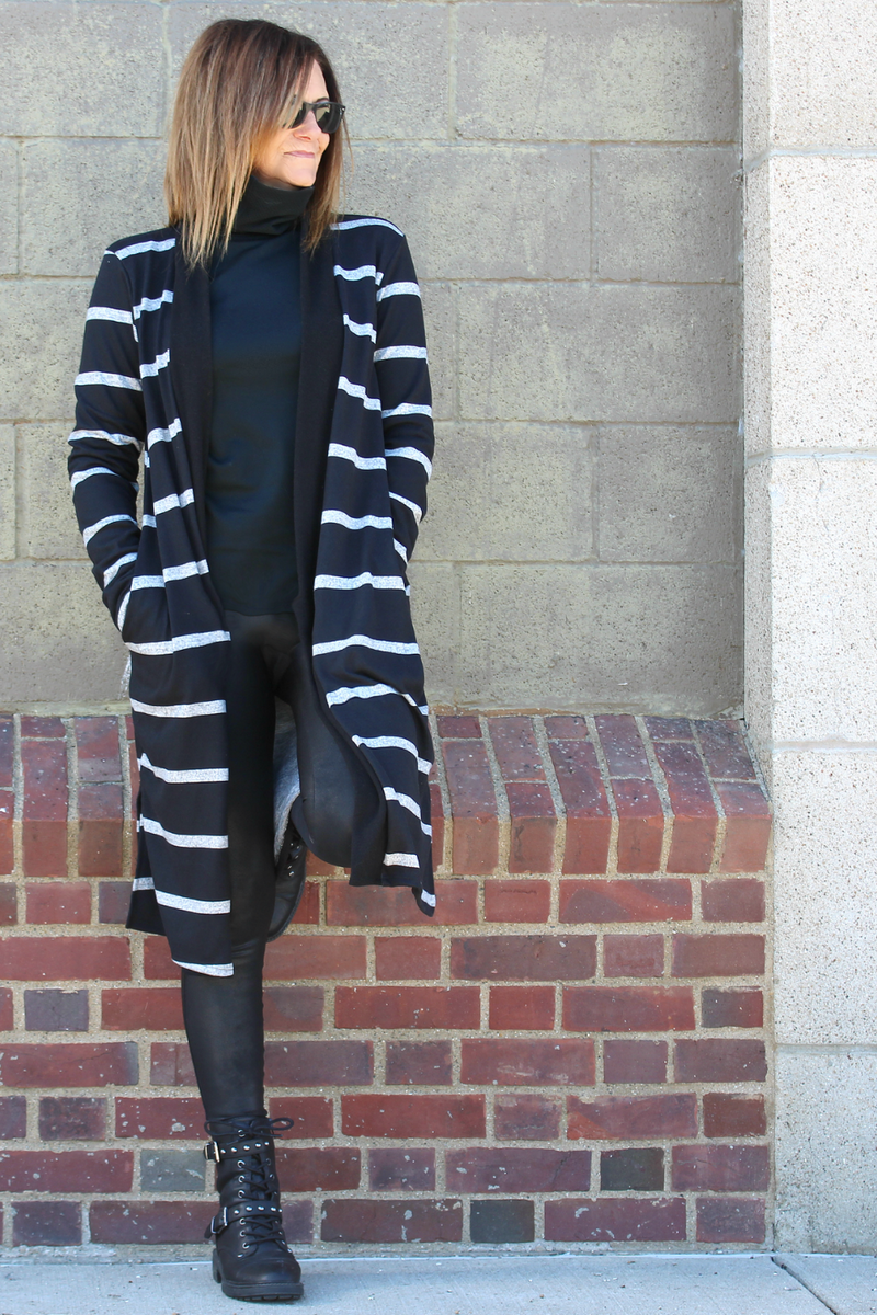 The Classic Cardi - Black