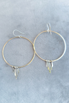 Sterling Silver Fringed Earrings