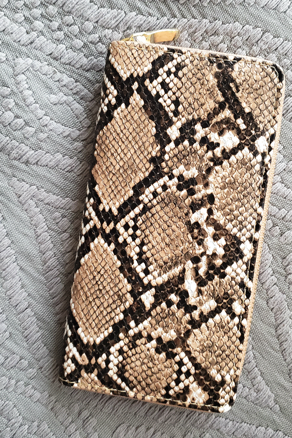 Wallet - Brown Snake