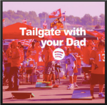 Tailgate with your Dad