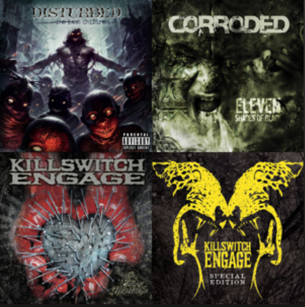 Workout Playlist METAL