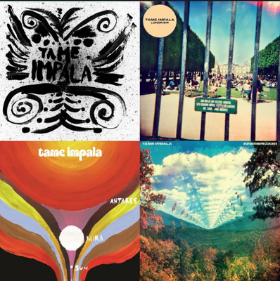 Tame Impala and Alikes