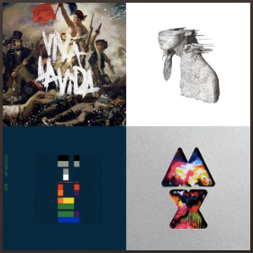 Coldplay/Yellow Card/Five for Fighting/etc..