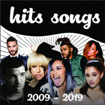 Hits Songs (2009-2019) - 1000 Songs