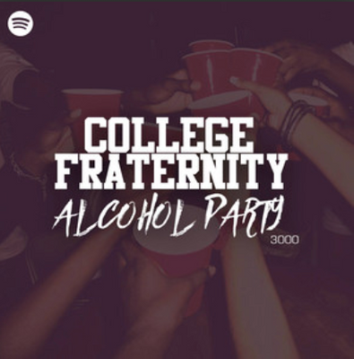 College Fraternity Alcohol Party 3000