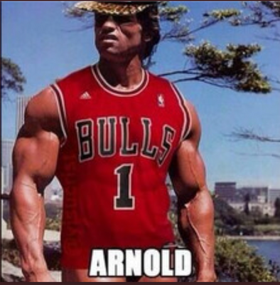 Arnold Swag - Pumping iron
