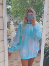 Light Blue Tie Dye Crewneck *PREORDER*