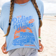 Riding The Waves 1978 Tee