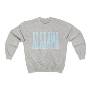 Light Blue Alabama Crewneck