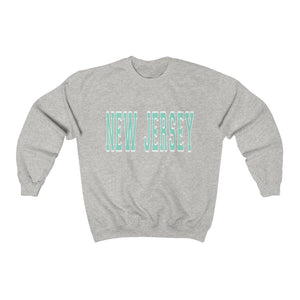 Teal New Jersey Crewneck