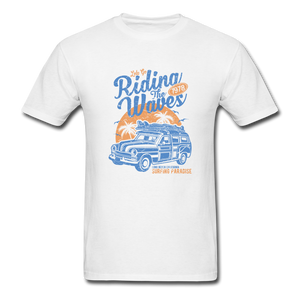 Riding The Waves 1978 Tee - white